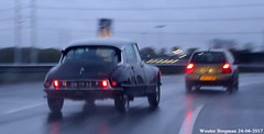 Citroën DS 21 1971 (XBXG) Tags: dr7952 citroën ds 21 1971 citroënds déesse snoek strijkijzer tiburón knooppunt rottepolderplein a200 nederland holland netherlands paysbas vintage old classic french car auto automobile voiture ancienne française vehicle outdoor