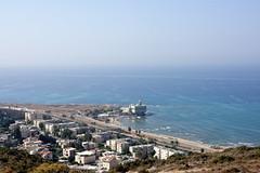 Haifa 09 (mpetr1960) Tags: haifa israel sea seaview cityscape city beach water nikon d810