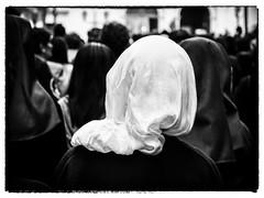 Nuns (Feldore) Tags: nuns easter good friday macau procession hongkong traditional habit behind spooky veil portuguese feldore mchugh em1 olympus 1240mm street candid christian