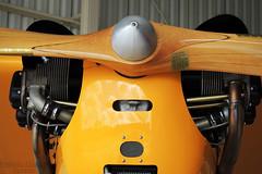 Cub (Antônio A. Huergo de Carvalho) Tags: piper piperj3 j3 cub j3cub ppddf detail details detalhe aviation aircraft airplane aviação avião aviaçãogeral classic clássico propeller prop hélice engine yellow