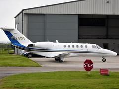 N525DT Cessna 525A Citation Jet (Grumman G1159) Tags: n525dt cessna525a citationjet cessnacj2 525a0003 cn525a0003 cessnaaircraftcompany n132cj msn525a0003 staverton egbj glo bizjet businessjet corporatejet aircraft aeroplane