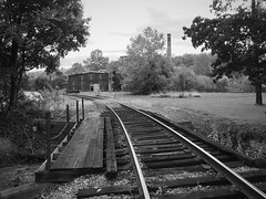 Broad Ford (3) (photography_isn't_terrorism) Tags: abandoned railroad distillery pennsylvania overholtdistillery bridge trestle