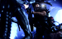 Stay Frosty (scarrviper) Tags: neca alienday aliens xenomorph hicks colonial marines