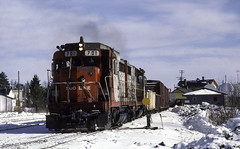 Extra 701 West (ac1756) Tags: soo sooline troutlake michigan lakestates emd gp30 701 extrawest winter snow cold