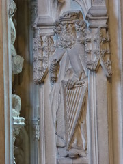 King David (Aidan McRae Thomson) Tags: worcester cathedral worcestershire medieval sculpture carving statue