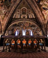 Assisi (ElGrillo89) Tags: pentax pentaxk3 k3 assisi basilicadiassisi umbria altare altar chiesa church faith fede light luce interni inside