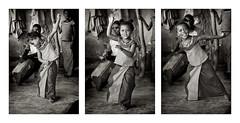 2012_IMG_30737-LR 01 1A N&B1E tryptique (Balilaï) Tags: afrique africa casamance cachouane kachouane balilaï cachiouane sénégal noiretblanc nb portrait