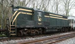 CNJ 1523 GP-7 (kitmasterbloke) Tags: tuckahoe nj usa jersey railroad tourist iutdoor transport diesel locomotive train