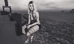|She's a tornado with pretty eyes & a heartbeat| (- Live A Little -) Tags: empire 7 vinyl foxes 220ml kibitz dela