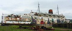 Duke Of Lancaster (cocabeenslinky) Tags: street urban streetart black art dan face canon john graffiti artist ship grafitti power shot mr dale photos goin graf authority may duke can kitchener powershot appreciation lancaster council monkeys opening graff worms society bungle zero hs rowley dank grimshaw flintshire artiste the mostyn 2013 of sx220 dudug cocabeenslinky llanerchymr