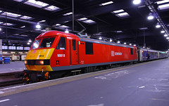 90018 Euston (NB Railways) Tags: euston dbs class90 90018 wcml 1m11 firstscotrailsleeper