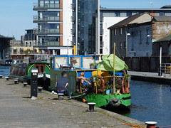 Union Canal Edinburgh (4) (Royan@Flickr) Tags: bridge trees water club boats canal edinburgh path union sunny cycle rowing boathouse waterways 20130525