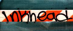 Graffiti found in Lower Manhattan.  Inkhead. (Allan Ludwig) Tags: graffiti lowermanhattan inkhead