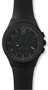 Swatch Black Efficency Mens Wa