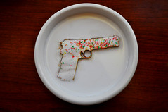 Pop Tart Guns (flickrnumi) Tags: school breakfast milk education hype violence guns nra schoolshooting schoollunch lasercut nannystate joshuawelch robinficker countyschoolboard poptartgun