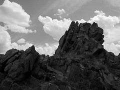 18 May 13 Crown (ethanbeute) Tags: city family sky blackandwhite bw white black water clouds canon river outdoors colorado cloudy walk canyon hike easy arkansasriver canoncity canyoncity tunneldrive easyhike