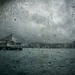 Rainy weather - not very nice on the Star Ferry...