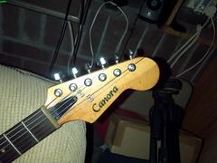 Canora stringthru neckthru 1c (LoxPix) Tags: kent bass guitar workinprogress rick mandolin fender beatle crown custom gibson squire hofner epiphone fernandes teisco bowhunter