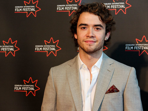 Jamie Blackley at the UWantMeToKillHim photocall at Cineworld