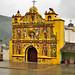 La curiosa chiesa gialla di San Andrés Xecul