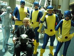 SDCC13 - The original X-Men (W10002) Tags: angel grey jean cosplay cyclops xmen iceman beast marvel sdcc sandiegocomiccon sdcc2013 sdcc13