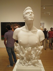 Male Sculpture (shaire productions) Tags: sf sanfrancisco museum photo gallery image arts sfmoma moma museumofmodernart photograph imagery