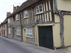 more timber buildings (Carol Spurway) Tags: street house suffolk cream beams lavenham timberbuildings