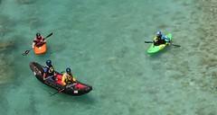 Canoeing (Cristina Birri) Tags: summer river estate fiume canoe slovenia canoeing acqua azzurro isonzo gommone