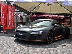 r8 (Shobin Drogan) Tags: orange black cars german audi supercar v8 automobiles matte r8