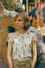 51270021 (Yulia Belochka) Tags: summer portrait film girl beautiful soup lomography purple kodak young siberia trippy psychedelic damaged novosibirsk destroyed soaked nsk