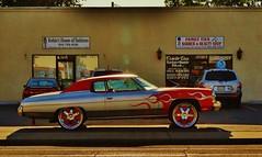 I'll make you a deal (rickele) Tags: chevrolet flames wheels barbershop chevy chrome sacramento 20 impala coupe dubs familyties smallbusiness southsacramento southsac southoakpark