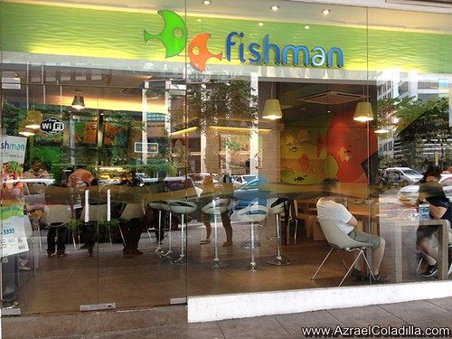 Fishman restaurant in BGC