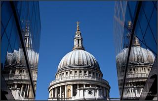 St Paul's in triplicate