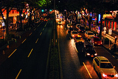 Omotesando traffic  lights (Arutemu) Tags: street city urban japan night asian japanese tokyo evening nikon asia cityscape view nightscape scenic ciudad scene nighttime citylights harajuku vista    japonesa japon japones ville omotesando japonais             japonaise