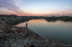 SALAM TERAKHIR (my effendi) Tags: longexposure lake nature water rock stone landscape nikon mine tokina lee malaysia penang quarry apen effendi d90 gnd singhray leefilter nikonflickraward rgnd ringexcellence dblringexcellence tplringexcellence flickrtravelaward thephotographyblog eltringexcellence myeffendi effendimohdyusof