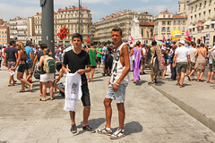 Vieux Port - Marseille (France) (Meteorry) Tags: gay france cute boys pose marseille twins europe july teens sneakers trainers nike paca lgbt skate baskets shorts gaypride hommes vieuxport europride bouchesdurhne mecs meteorry skets provencealpesctedazur 2013 quaidesbelges provencealpesctedazur sk8boys