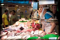 Mercat de la Boqueria (Gianluca Quarta Photography) Tags: barcelona food fish 50mm spain nikon f14 mercato cibo boqueria barcellona spagna pesce mercat d300s