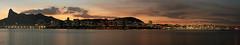 Pôr do sol panorâmico - Panoramic sunset (adelaidephotos) Tags: sunset brazil panorama mountain silhouette rio brasil riodejaneiro landscape twilight dusk panoramic cristoredentor christtheredeemer corcovado pôrdosol silhouetted morro montanha anoitecer entardecer silhueta mountainrange maciçodatijuca mariaadelaidesilva tijucamassif