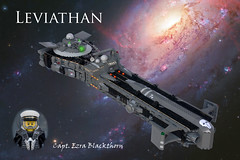 Leviathan (ted @ndes) Tags: ship lego space heavymetal yamato mak krieger maschinen locnar shiptember