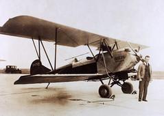 AL6_T Lee_00044 (San Diego Air & Space Museum Archives) Tags: unitedairlines boeingtheophiluslee tlee training nx4259 x4259 aviation aircraft airplane biplane besler