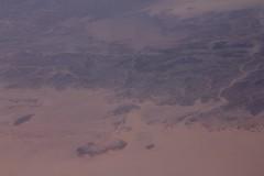 Tibesti Mountains, Tchad / Montaas del Tibesti (Jos Rambaud) Tags: africa mountains sahara inflight desert chad aerial desierto klm range aerea tchad tibesti