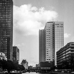 Rotterdam (OskarN) Tags: 120 6x6 film 120film ilford yashica yashicamat124g ilfordfp4 analoog