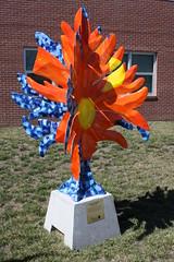 An Enchanted Arboretum - Flowers of Nature (cannellfan) Tags: sculpture tree art statue nebraskacity 2013 applejackfestival flowersofnature anenchantedarboretum markalimartinezbanderas