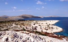 karstlandschap op de Kornati-eilanden, Kroati 2004 (wally nelemans) Tags: 2004 croatia limestone karst hrvatska kras kroati kornati kalksteen karstlandschap