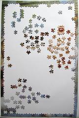 Stars - step 2 (Leonisha) Tags: puzzle unfinished jigsawpuzzle