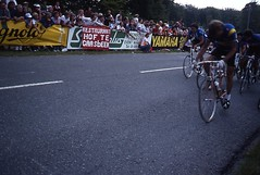 1982 World Cycling Champ005 (Tim Callaghan) Tags: cycling jones 1982 bikes flags kelly 35mmslides roads crowds goodwood lemond saroni worldroadracechampionships