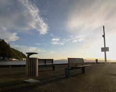 Seeing the light (Dave Gardiner) Tags: newzealand sky water clouds nikon dusk wideangle wellington eastbourne wellingtonharbour d7000 samyang14mm
