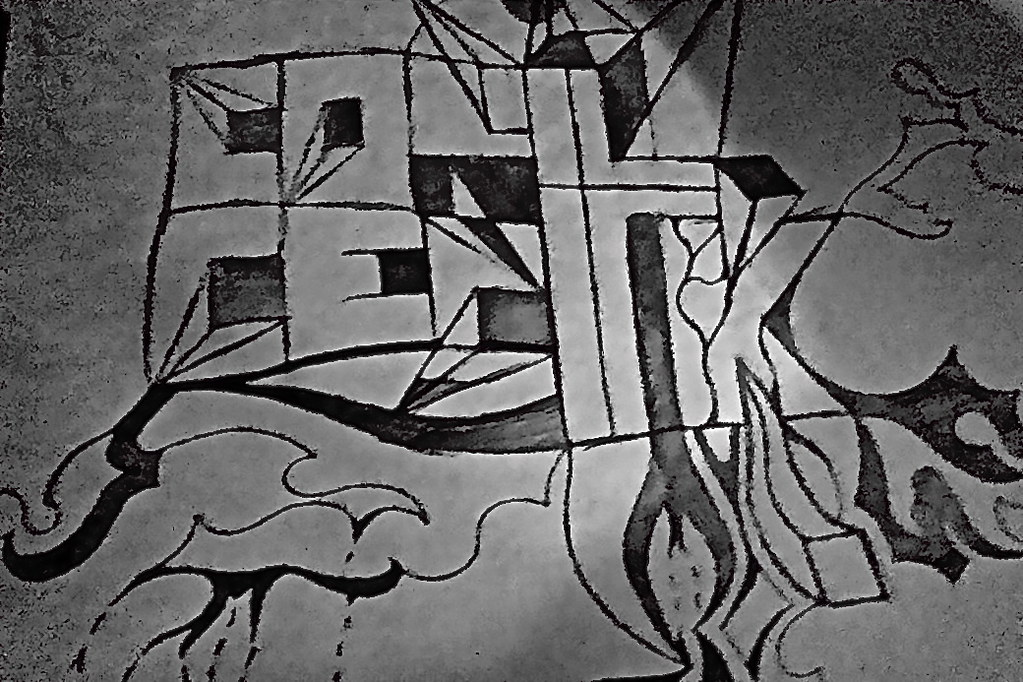 ConceptK Drawing (Caleb_Ketterer8) Tags: Pencil Christ Cross God Drawing  Christian Sharpie Concept Edit