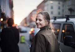 Hannah A. (heddar) Tags: street city woman beautiful walking walk copenhage kpenhamn