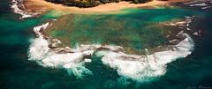 Tunnels Reef (Lace Photos www.lacephotos.com) Tags: airplane hawaii kauai reef